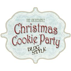 The Incredible Cookie Party Blog Style - My Insanity