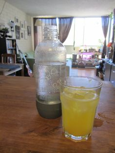 Mike is Bored: DIY Orangina recipe for Sodastream or soda water