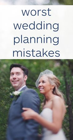 The worst wedding planning mistakes you can make! Photo by Adam Kennedy Photography.