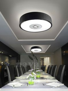 One of most successful LED ceiling fixtures from Spanish producer - - illuminates every corner.