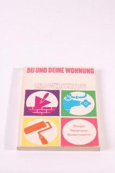 """DDR Museum - Museum: Objektdatenbank - Buch""""Du und deine Wohnung""""    Beitragsmarken """"DTSB"""" Copyright: DDR Museum, Berlin. Eine kommerzielle Nutzung des Bildes ist nicht erlaubt, but feel free to repin it!"""