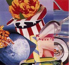 James Rosenquist World's Fair Mural 1964 Pop Art Jasper Johns, Peter Blake, Robert Rauschenberg, Roy Lichtenstein, David Hockney, Cultura Pop, Land Art, Andy Warhol, Weisman Art Museum