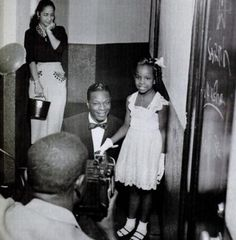 Nat King Cole & Gladys Knight, 1953