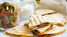 Quesadillas, Tacos, Good Food, Mexican, Tortillas, Ethnic Recipes, Party, Pico De Gallo, Mince Pies
