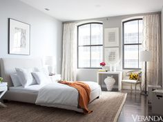 """Antony Todd's vision is completed with a custom Leontine look via Veranda, """"2012 Designer Visions: One Glamorous New York Apartment"""""""