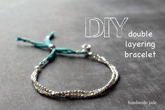 DIY Friendship Bracelet : DIY Double Layering Bracelet