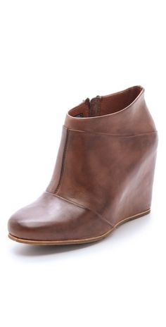 Im not that into booties but this one is makin' me a believer!!! UGG Australia Carmine Wedge Booties
