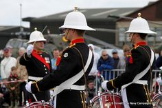 Yeovilton Air Day 2012, Royal Marines Band by Navy Campaign, via Flickr