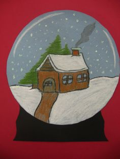 a faithful attempt: Sparkling Snow Globes