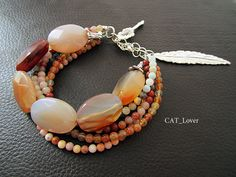 Bracelet Autumn by catlovershop on Etsy