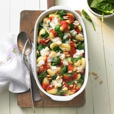 Gnocchi-Spinat-Auflauf | Weight Watchers
