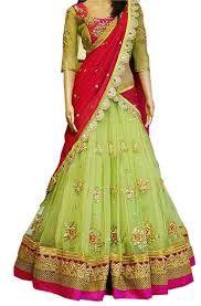 DREAMEXPORTER Designer Bollywood Lehenga Choli Party wear Ghaghra Choli Dream Exporter 1070-A