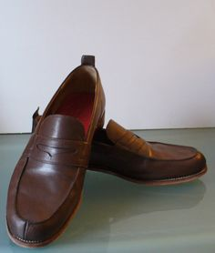 Grenson England Penny Loafers Size 10.5E by TheOldBagOnline on Etsy