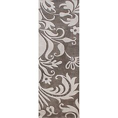 @Overstock - Handmade out of lush, hand-washed New Zealand wool this rug features a striking, floral design that will add a contemporary look to your home. This rug also features a vivid grey color scheme.http://www.overstock.com/Home-Garden/Handmade-Sabrina-Grey-New-Zealand-Blend-Wool-Runner-Rug-2-x-8/6663281/product.html?CID=214117 $83.99