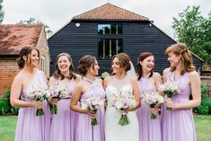 Pre-wedding shot in the Coach House garden with the Hay Barn in the background. Photo credit http://maddiewaters.co.uk