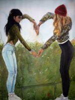 Friends Forever by zoleeart