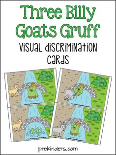 Billy Goats Gruff Visual Discrimination Game