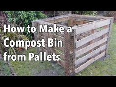 How to Make a Compost Bin from Pallets