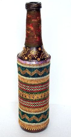 paintedEarth.in | Upcycled Bottle 1