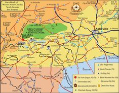 Great Roads   Tail of the Dragon Maps