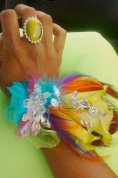 My junior prom corsage :)