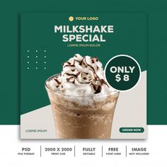 Discover thousands of Premium PSD available in PSD and JPG formats Food Graphic Design, Food Poster Design, Design Food, Poster Design Inspiration, Web Design, Graphic Design Posters, Layout Design, Banner Social Media, Social Media Poster
