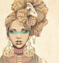 FREELANCE ARTIST: Illustrator, Accessories and Costume Designer Marisa Jiminez.  www.marisa-jimenez.wix.com/artist