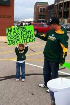 I don't always pin stuff with kids...but when I do, they're making fun of Jay Cutler.