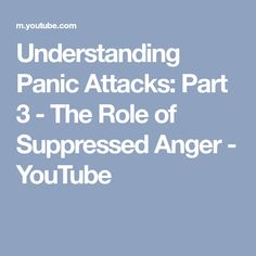 suppressed anger symptoms