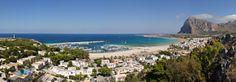 San Vito Lo Capo (TP) Veduta dell'intera località..mare da sogno!