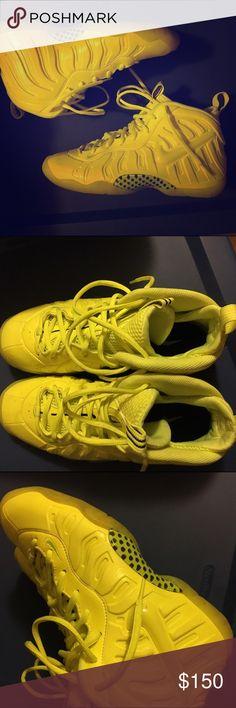 d84507575d5a Foam posites Worn twice youth 7 Nike Shoes Sneakers