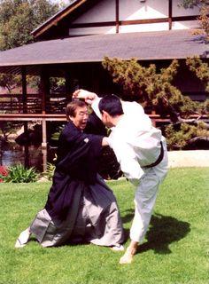 Hirokazu Kanazawa 10th Dan SKIF, is one of the most senior practicing Shotokan Instructors in the world. http://www.theshotokanway.com/aninterviewwithhirokazukanazawa08.html