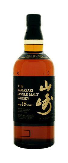 Suntory Yamazaki 18 year old Japanese Single Malt Whiskey. For relaxing times.