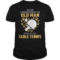 OLD MAN  Who plays TABLE TENNIS