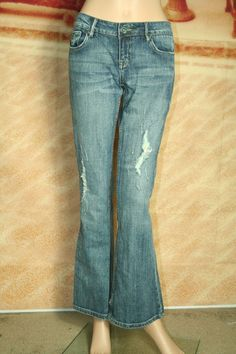 C7P A Chip and Pepper Production Laguna Beach Flare jeans size 5 #ChipPepper #Flare