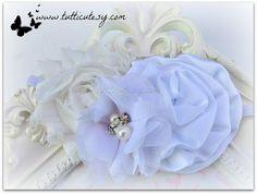White Flower Headbands by tutticutesytutus on Etsy