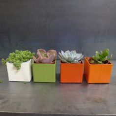 Metal planters – FleaPop – Buy and sell home decor, furniture and antiques