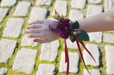 Burgundy Flower wrist corsage, Fall wrist corsage, Bridesmaids wrist corsage, Fall weddings, Bridal wrist corsage, Fall flower corsage Flower Corsage, Wrist Corsage, Burgundy Flowers, Fall Flowers, Fall Wedding, Bridesmaids, Weddings, Bridal, Trending Outfits