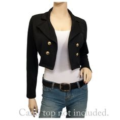 Evogues Apparel Cropped Blazer for better and sexy appearance