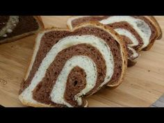 Csíkos kalács - Kakaós kalács /TT/ - YouTube Bread, Cooking, Youtube, Food, Meal, Kochen, Essen, Hoods, Breads