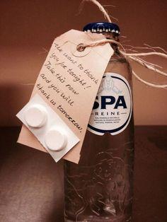 Kater water: als grapje meegeven aan jullie gasten, gemakkelijk zelf te maken en te personaliseren!