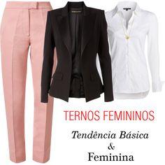 """Ternos femininos"" by gessilene-ferreira on Polyvore"