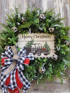 Christmas Wreaths For Front Door, Christmas Tree Wreath, Christmas Gnome, Holiday Wreaths, Christmas Decorations, Whimsical Christmas, Rustic Christmas, Beautiful Christmas, Red Hydrangea