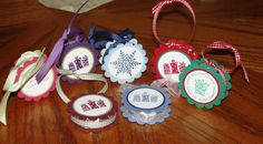 York Peppermint Pattie Ornaments
