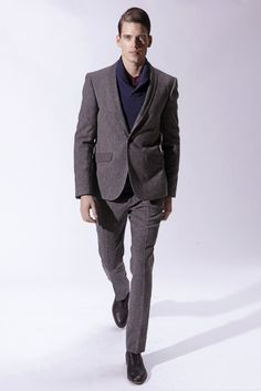 Handsome @MarcCox_ for Bespoken Fall/Winter 2013 | New York Fashion Week