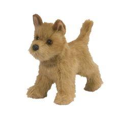 Dandy the 12 Inch Stuffed Tan Cairn Terrier Puppy by Douglas @ stuffed safari