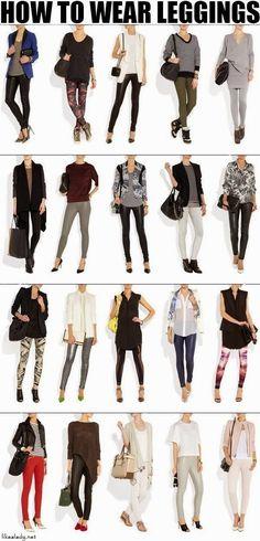 how-to-wear-leggings #howtowearleggings #leggings @Mall of Style | Fashion Jewelry Store