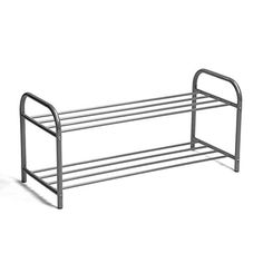 Shoe Rack Organizer Storage Bench ,VECELO Utility Metal Shoe Rack , Durable Shoetree with Metal Cube Shoe Rack Organization, Shoe Storage Rack, Closet Storage, Storage Shelves, Storage Ideas, 2 Tier Shoe Rack, Metal Shoe Rack, Outdoor Chairs, Outdoor Furniture