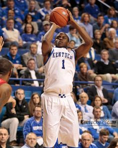 Senior Night. 5 Three's. 17 points. Way to go out in style at Rupp!