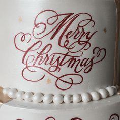 Hand painted Christmas cake Cake Decorating, Birthday Cake, Hand Painted, Cakes, Desserts, Christmas, Food, Tailgate Desserts, Xmas